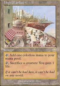Magic: The Gathering High Market